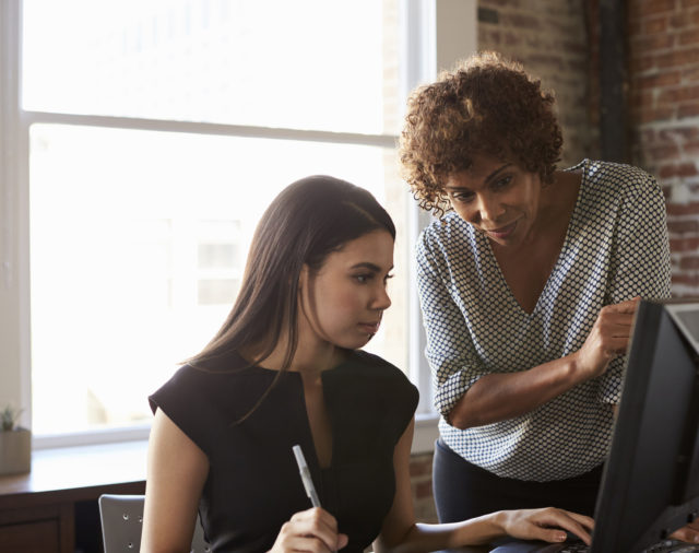 The Power of Female Mentors
